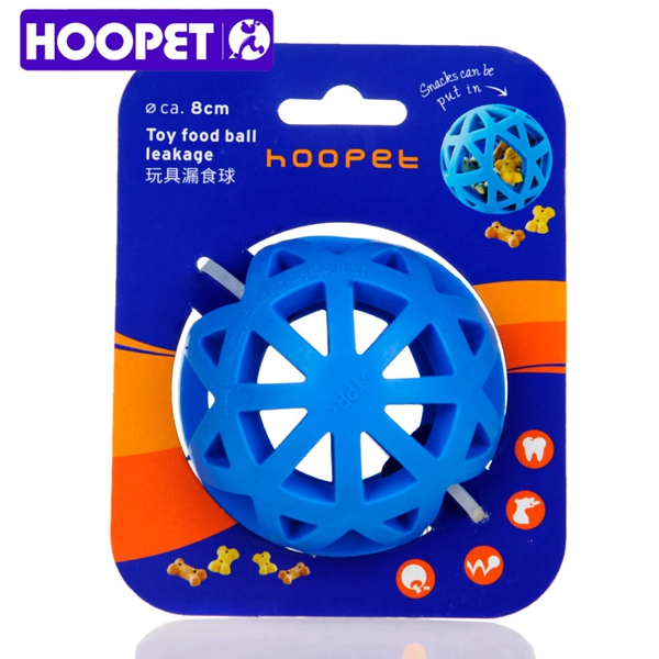HOOPET pet dog toy cleaning teeth ball