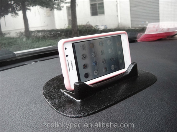 100% High quality PU gel sticky mobile phone holder for navigation