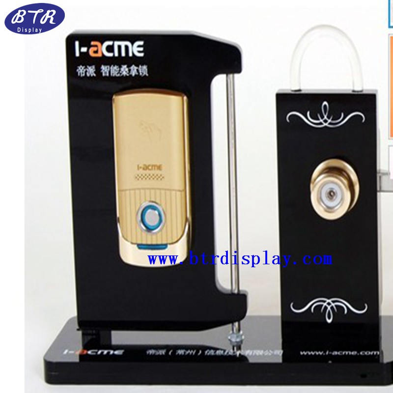 wholesale acrylic door lock display