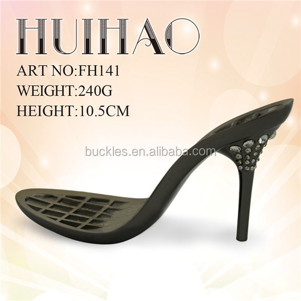 manufacture rhinestone heels soles for making women shoes FH141
