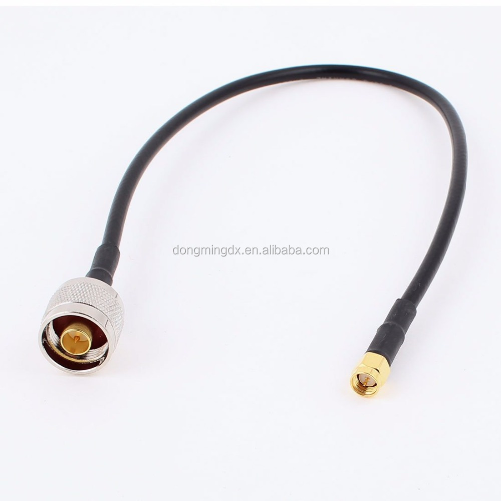 RF cable N Male to SMA Male Adapter RG58 Coaxial RF Pigtail Cable