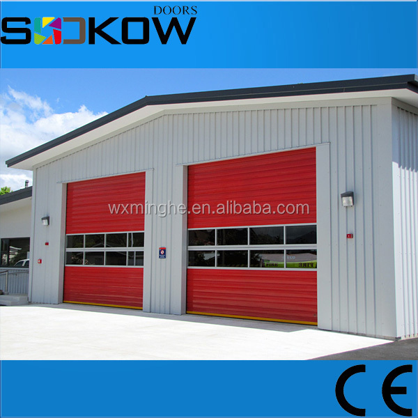 automatic garage door window kit/aluminum glass garage door window kit