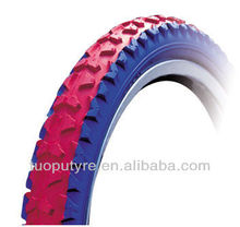 Colored bicycle tyre 20*1.95,22*195
