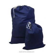 Factory Cheap Customized large canvas drawstring laundry bag/cotton bag drawstring