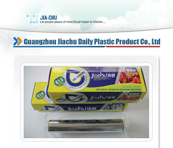 "Aluminum foil for Hotel, ""JIACHU"" Brand, supply OEM,613 & 615 Style"