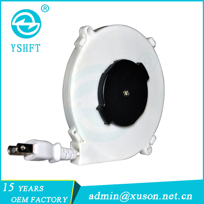 electrical plugs retractable wire reel small cable reel for sale