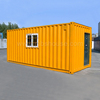 modern modular container glasshouse luxury prefabricated wood cabin