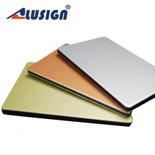 Alusign plastic corrugated outdoor sign wall cladding