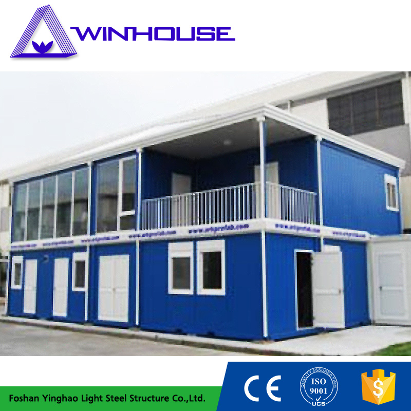 Modern Style Temporary Prefabricated Cheap Flat Pack House Price