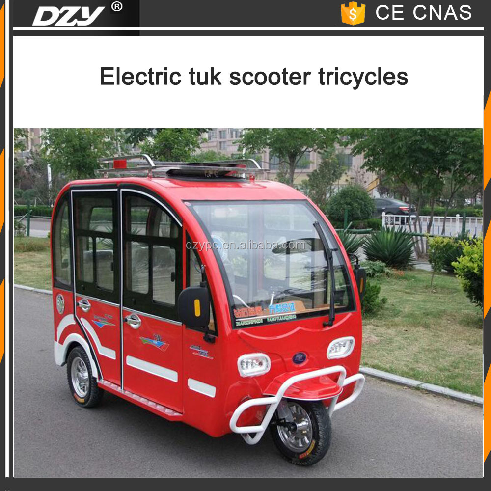 New Energy electric tricycle taxi tuk tuk taxi motor taxi with Certificates