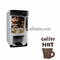Hot selling automatic coin coffee vending machine and drink vending machine and table top coffee vending machine