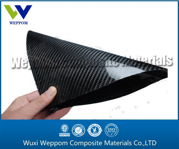 Soft 3K Carbon Fiber Leather Sheet