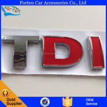 Custom TDI Car Sign Mark Decal Label Sticker Logo Badge Emblem