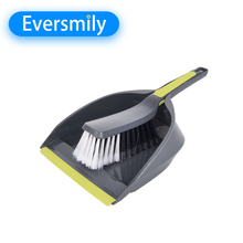 Cleaning tools mini handle plastic broom set dustpan brush with high quality
