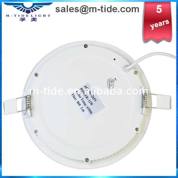 high quality & best price Round Glass Led panel lamp