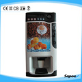3 Hot & 3 Cold Coin Operated Vending Machine for Sale