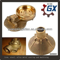 casting copper accessories and copper sand casting parts