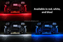 4x4 Automobile 2inch RGB 9W Blutooth LED Rock Light Wireless Motor Deck Lamp