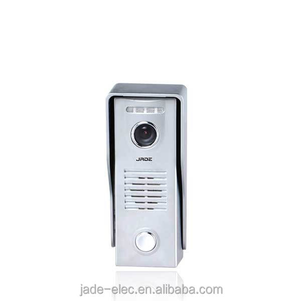 7inch villa video door phone apartment intercom system Anti-vandal zinc-alloy outdoor station