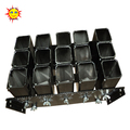 2 inch 15 shots single shot aluminium alloy special-effect fireworks display rack
