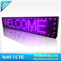 programable led sign \ led scrolling message board \ p10 led Display