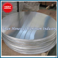 aluminum circle plate A1050 quarter hard in various thickness