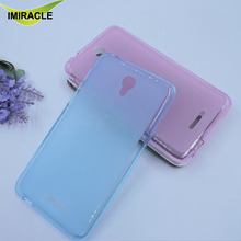 Jelly TPU Silicone Soft Gel Back Cover Case For Alcatel Pixi 4 Mobile Phone Case