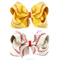 2017 Summer Accesories Large Leather Hair Bow BH2043