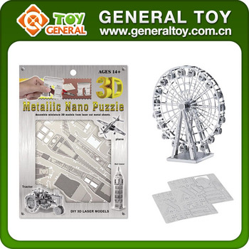 Intelligent DIY Building Metal 3D Puzzle