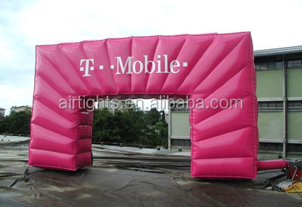 water proof race arch, start line, inflatable gate