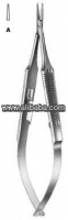 Needle holder, dental instruments, dental forceps