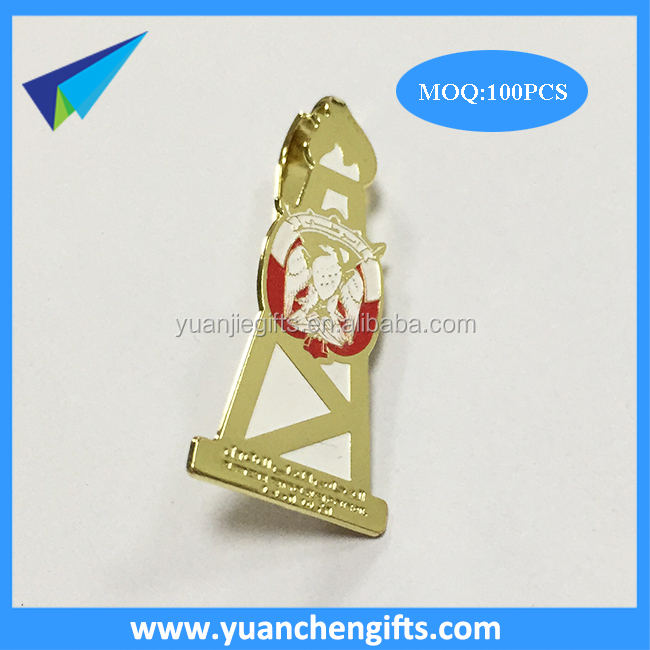 Wholesale clipboard paper clip /Photo etching brass metal clips for paper