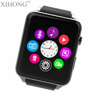 China Good waterproof heart rate mobile phone dual os iso android smart watch