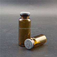 Promotional amber glass vials recycling pharmaceutical vials with flip off cap