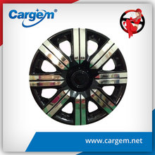CARGEM Black Chrome Wheel Cover Hubcaps