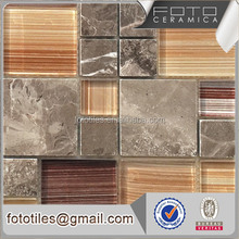 Style selection glass stone mosaic for construction & real estate