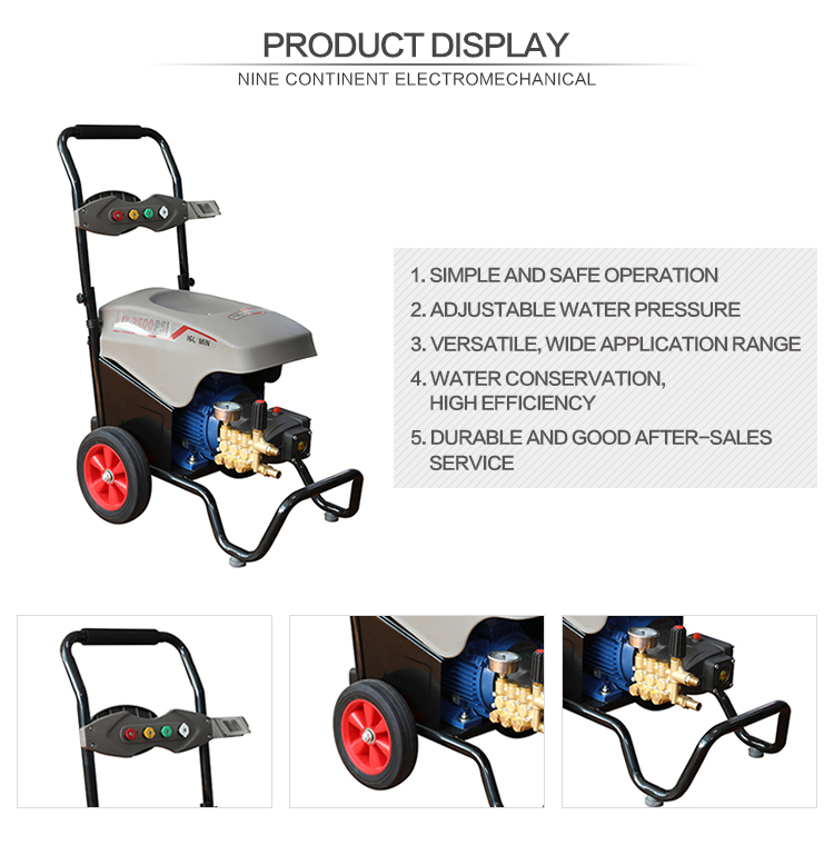 Gasoline High Pressure Car Washer