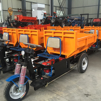 The hydraulic system tricycle for mining cargo