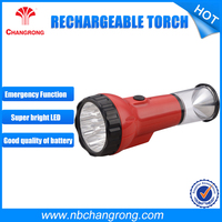 rechargeable heavy duty torch light , emergency rechargeable torch