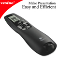 Logitech Wireless Presenter R800 PowerPoint Remote Controller with Green Laser Pointer for Powerpoint Presentation