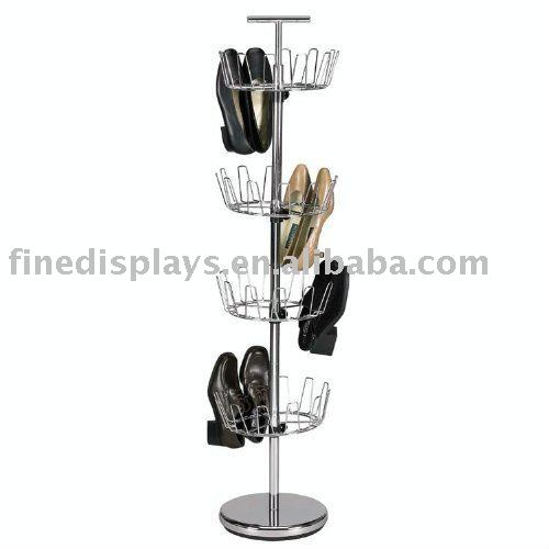 Household Revolving metal 4tier Shoe Tree (MS-A-0109)