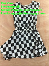 good style summer used clothing children dress,second hand clothing children dress,hot sale used clothing for african