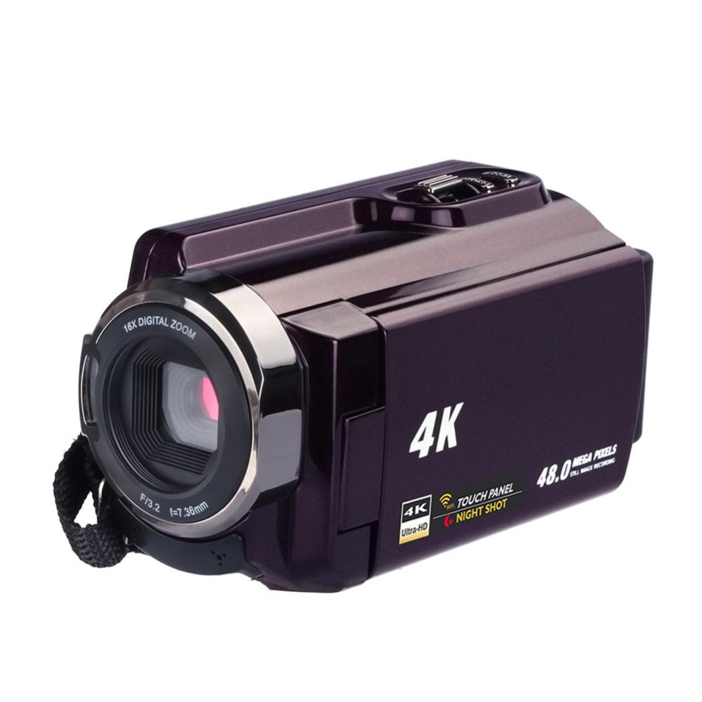 Высокое качество 4 к видеокамера-Регистратор видеокамеры Ultra HD цифровой Камера s и DI0085600 (5)