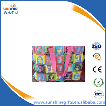 Fashion inflatable bubble bag for shopping