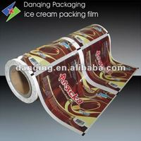 ICE CREAM!PLASTIC PACKAGING PRINTED ROLL FILM WITH PEARL MATERIAL