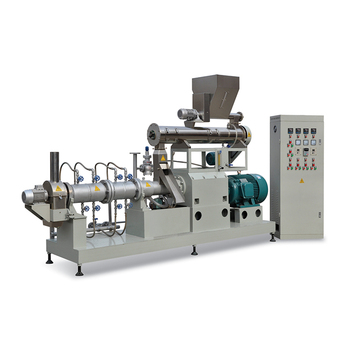 Processing floating catfish feed pellet production line with packing machine