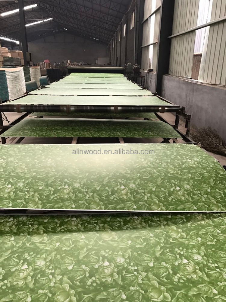 Polyester plywood, Paper overlaid plywood from linyi,China