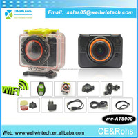 wireless remote watch control hd 1080p 60m waterproof wifi action camera sj6000