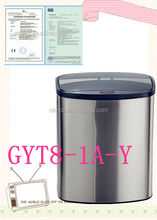 table waste bin used recycling containers g sensor