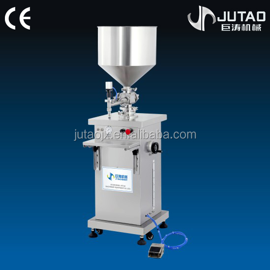 Semi Automatic Liquid Filling Machine For Ointment And Dish Wash
